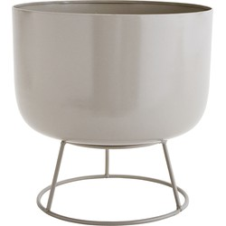 Madam Stoltz Pot Standaard Grijs 24 x ø25