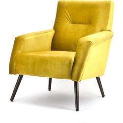 Duke fauteuil geel - Eleonora