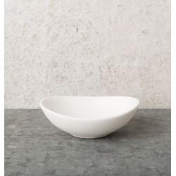 Dish Urban Clay (Ø9) - White