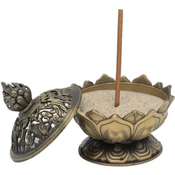 Fine Asianliving Lotus wierook houder