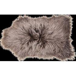 IJslands schapenvacht langharig - ±100x70cm - taupe