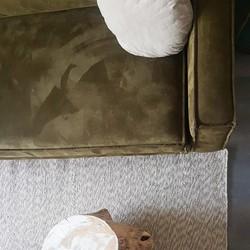 Wollen vloerkleed gemêleerd grijs 160x230cm - MrCarpet