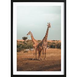 Giraffe Poster (21x29,7cm)