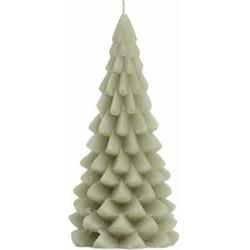 """Rustik Lys """"Kerstboom kaars 20x10cm"""" Eucalyptus -"""