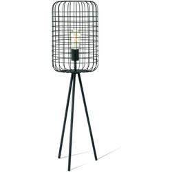 Home sweet home tafellamp Netting 28 - zwart