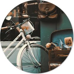 Muurcirkel klein vintage - Ø 30 cm