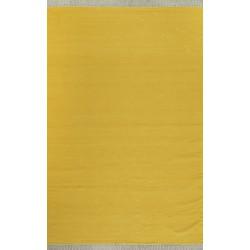 LIFA LIVING Kilim oosters vloerkleed, Geel tapijt, Zomers kleed, tapijt, handgeweven, 160 x 230