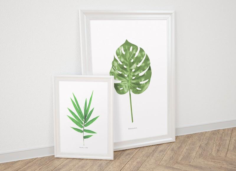 Download nu deze gratis printables in botanische stijl!