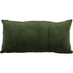Light&Living kussen Khios olijf groen velvet 30 x 60