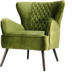 Daisy fauteuil groen - Eleonora