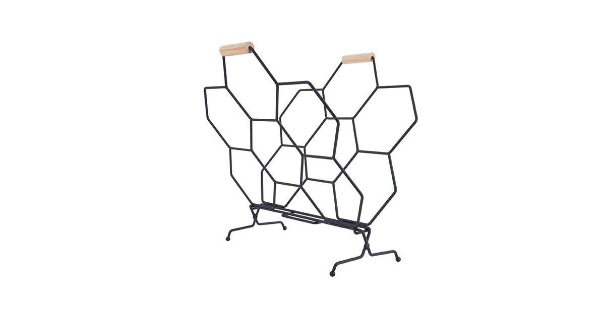 Magazine Rack Honeycomb