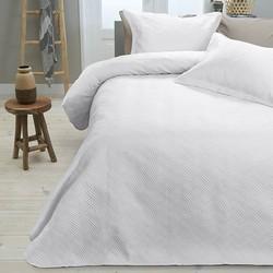 Bedsprei Sleeptime Wave White