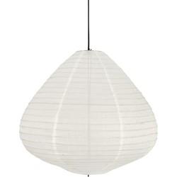 HK-living hanglamp lampion ecru katoen 65 cm