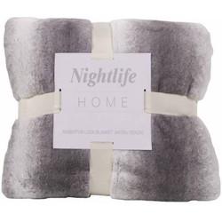 Nightlife - Plaid - Faux fur - Lycra / elastaan - Grijs