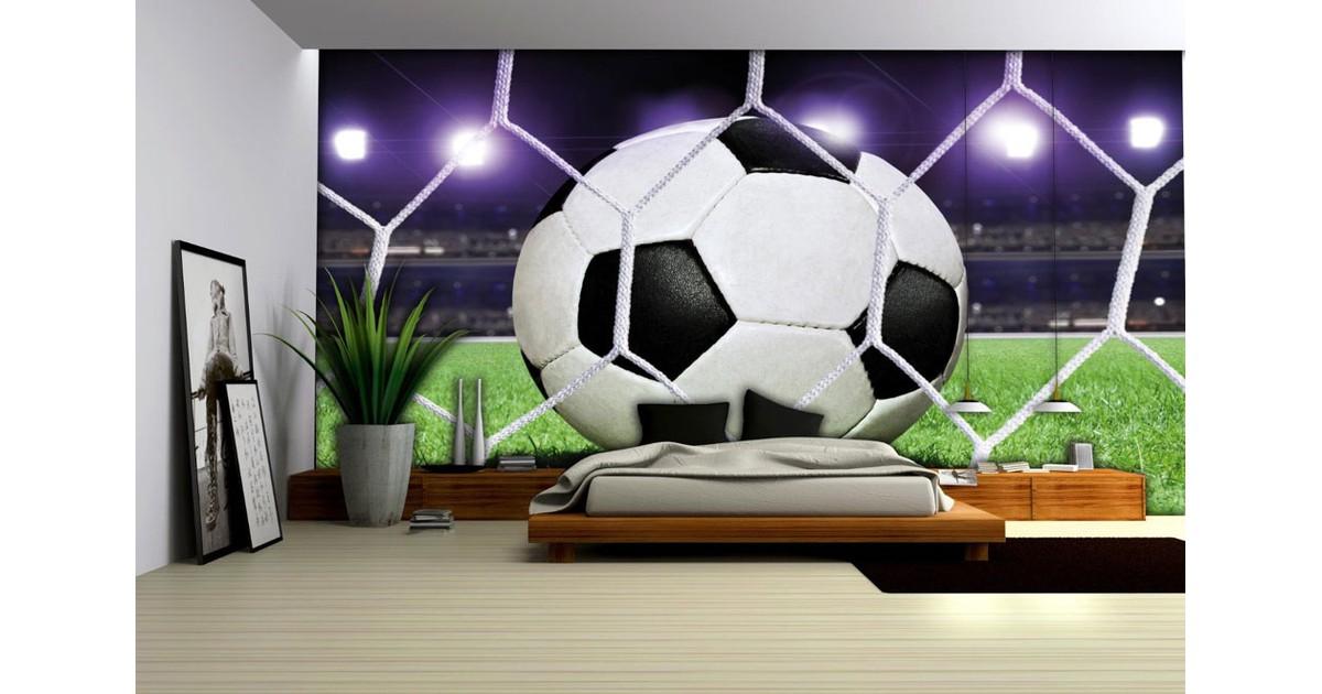 Voetbalnet Fotobehang XXL
