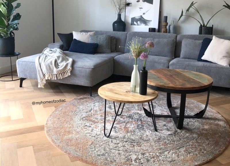 Zo combineer je industriële salontafels met verschillende stijlen