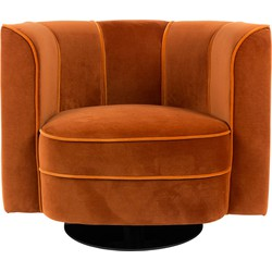 Fauteuil Flower Orange 76 x 86 x 74