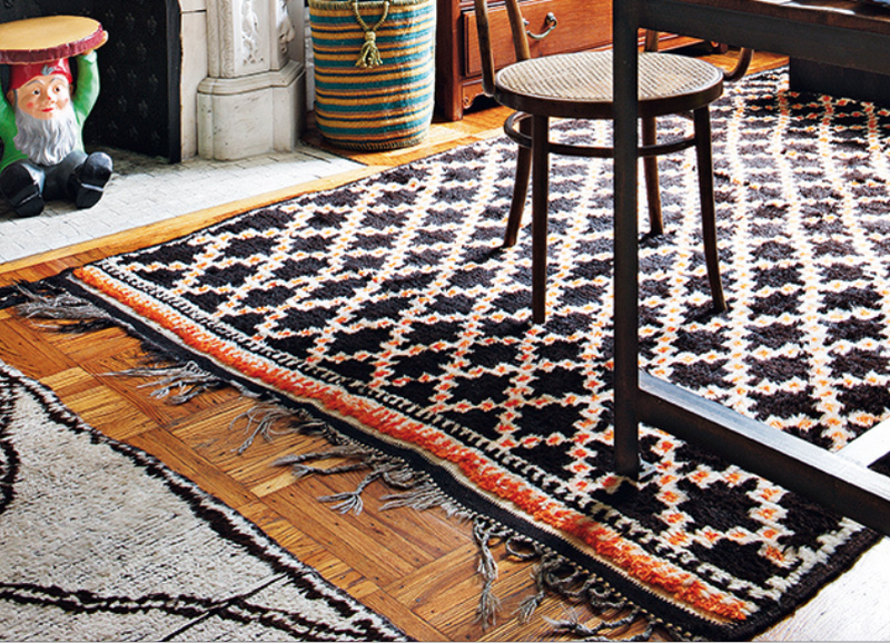 Treat Your Feet: Layered Rugs