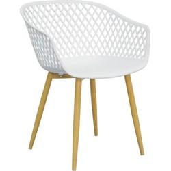 Tango stoel - wit - set van 4