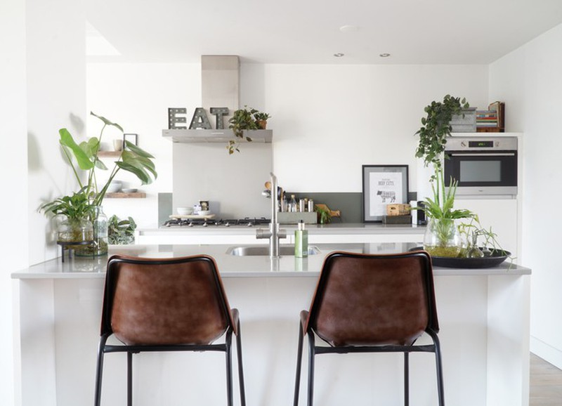 Inspiratie: 7x een bar in de keuken