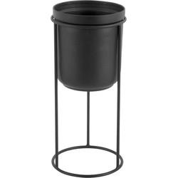 Spatial staande bloempot - Zwart