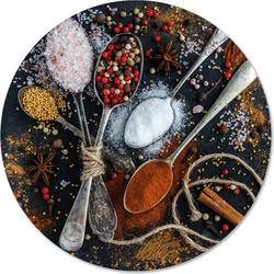 Muurcirkel klein spices - Ø 30 cm