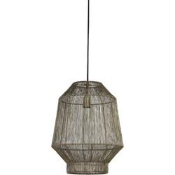 Hanglamp Ø37x46 cm VITORA antiek brons