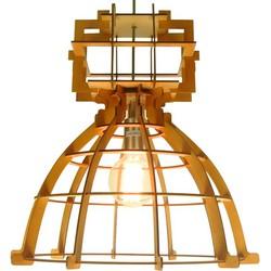 Hanglamp Industria - Maxi - Wood - 60 cm