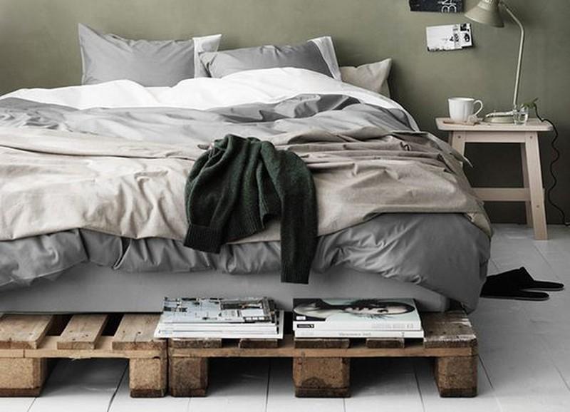 DIY: Bed van pallets
