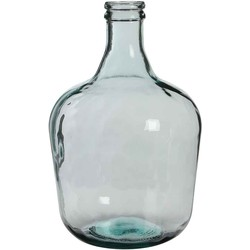 Mica Decorations fles diego glas maat in cm: 42x27 transparant