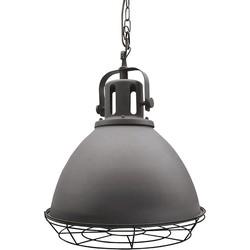 LABEL51 - Hanglamp Spot 47x47x52cm - Industrieel - Burned Steel