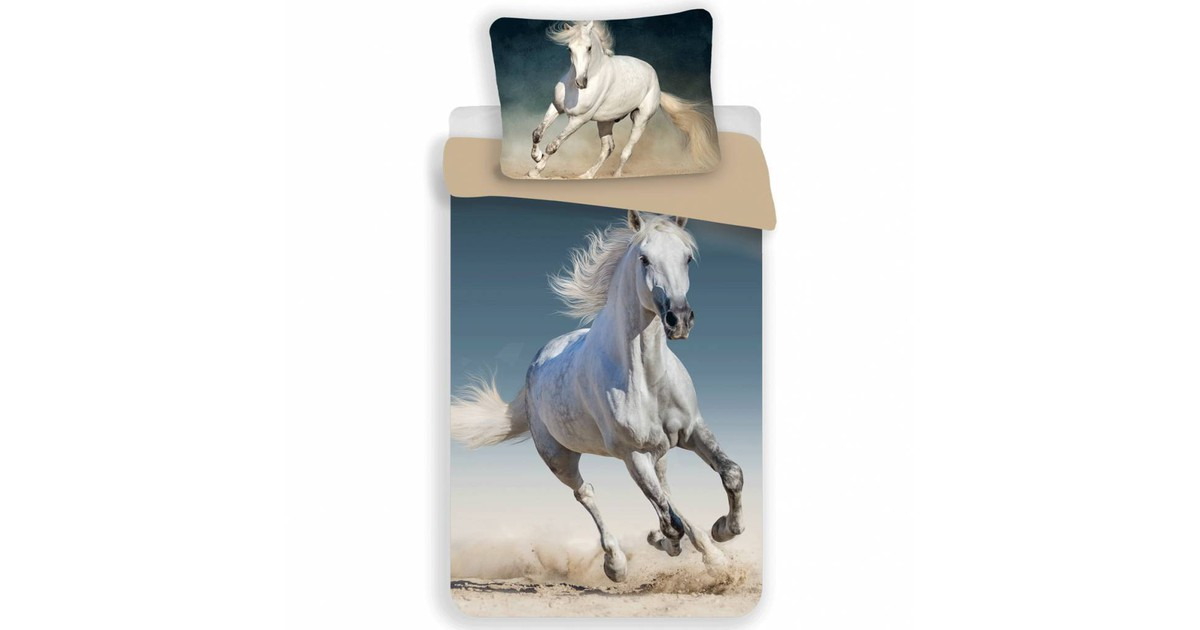 Dekbedovertrek Paard in Galop