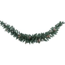 Kerstslinger Sherwood swag frosted h180 cm
