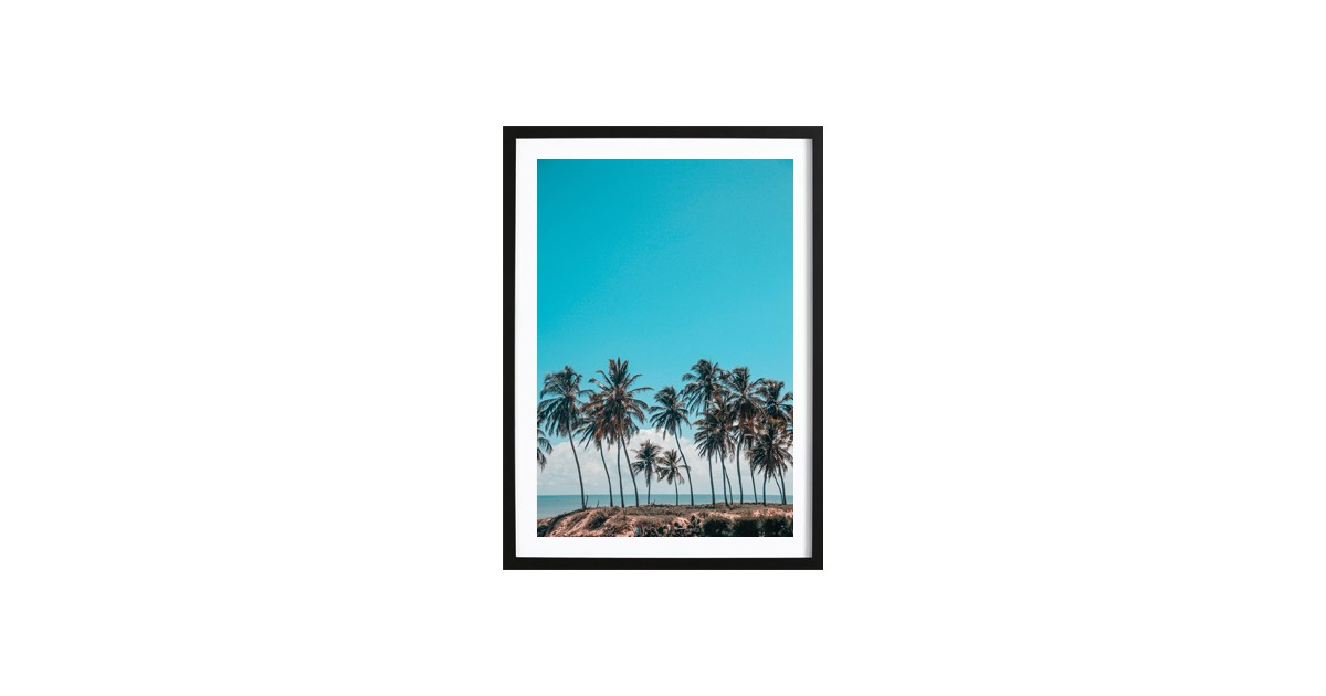 Palms And A Breeze Poster (50x70cm)