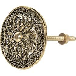 Clayre & Eef deurknop Ø 4 cm