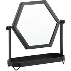 Make Up Spiegel Staand Zwart