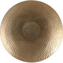 Schaal rond goud – h3xd35cm