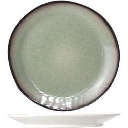 Cosy&Trendy Fez Dinerbord - Ø 28 cm - Green - Set-4