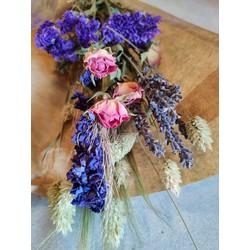 Droogbloemen Bouquet Maia Pink