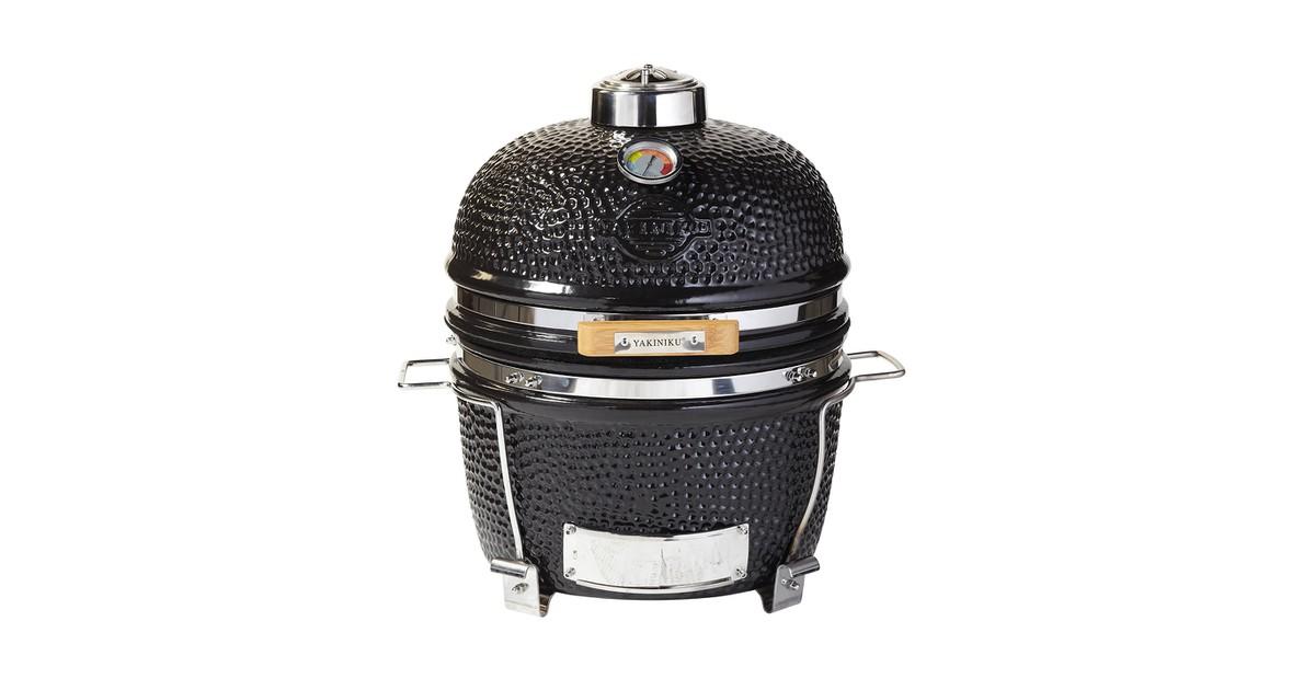 Yakiniku Keramische Barbecue met Onderstel 14 inch zwart