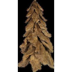 Kerstboom - 145 cm - teak
