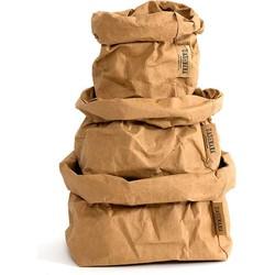 UASHMAMA® Paper Bag Naturel XS