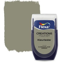 Muurverf Tester Camouflage Green 30 ml
