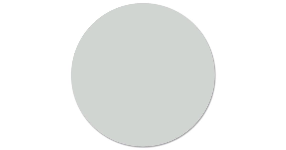 Muurcirkel klein effen pale green - Ø 30 cm
