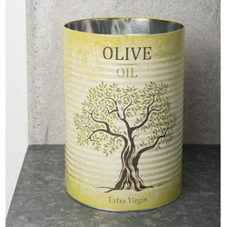 Storage Canister Tin - Olive Oil