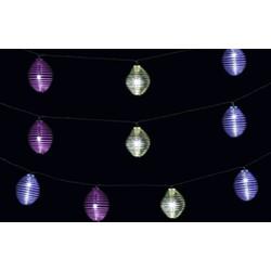 LED LOVERS Warm Wit Lichtsnoer, Kleurrijk LED Slinger, Decoratieve Lichtslang, Solar Sfeerverlichting, Draadloze Tuinverlichting, Retro Buitenverlichting, 3.8 m