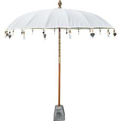 Todo Bien Bali parasol crme 180 cm