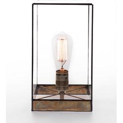 Geometrische lamp Lou - Brass - 30cm - incl peertje