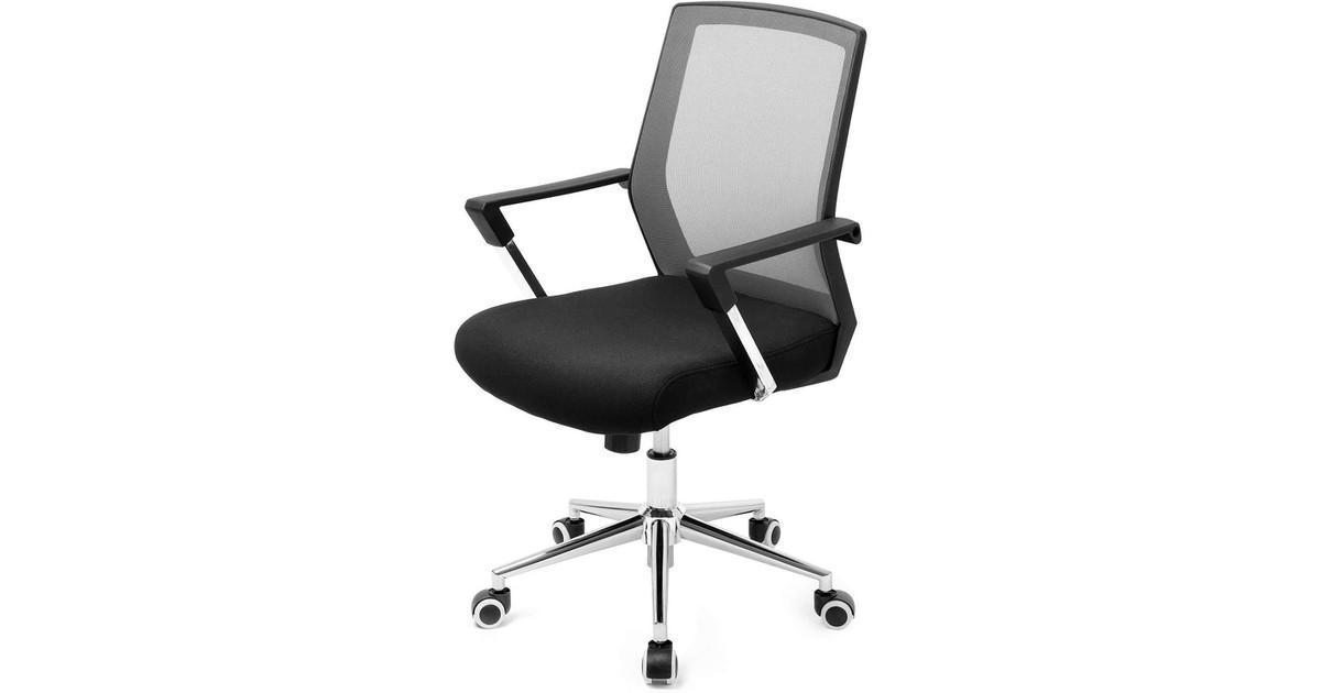 Nancy's Mesh Bureaustoel - Directiestoel - Ergonomische Bureaustoelen Voor Volwassenen - 60,6 x 55,8 x 31 cm