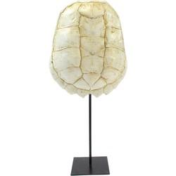 ornament katana schildpad wit l 57 x 28 x 12